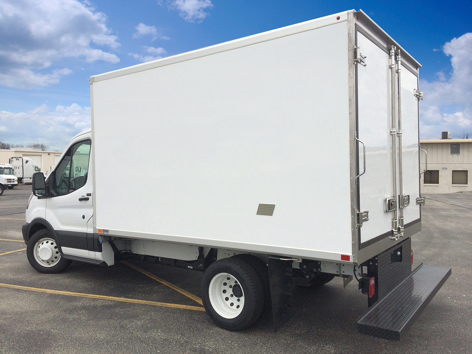 Ford Transit Box Truck Reefer Vans For Sale