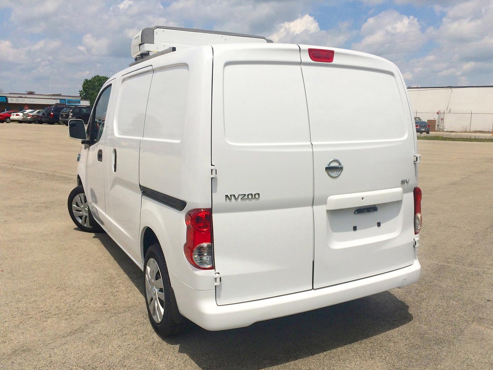 Nissan Cargo Van >> Refrigerated Vans | Models | Nissan NV200 | Bush Trucks
