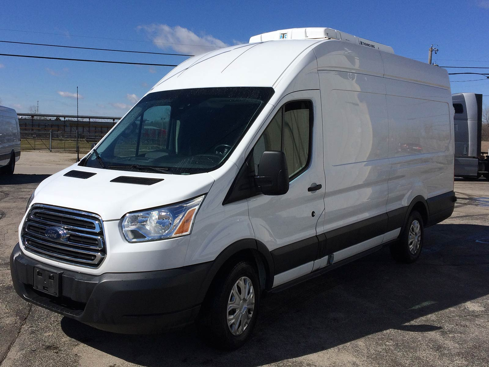 corning stock cargo trucks used van empty connect transit photo ford work