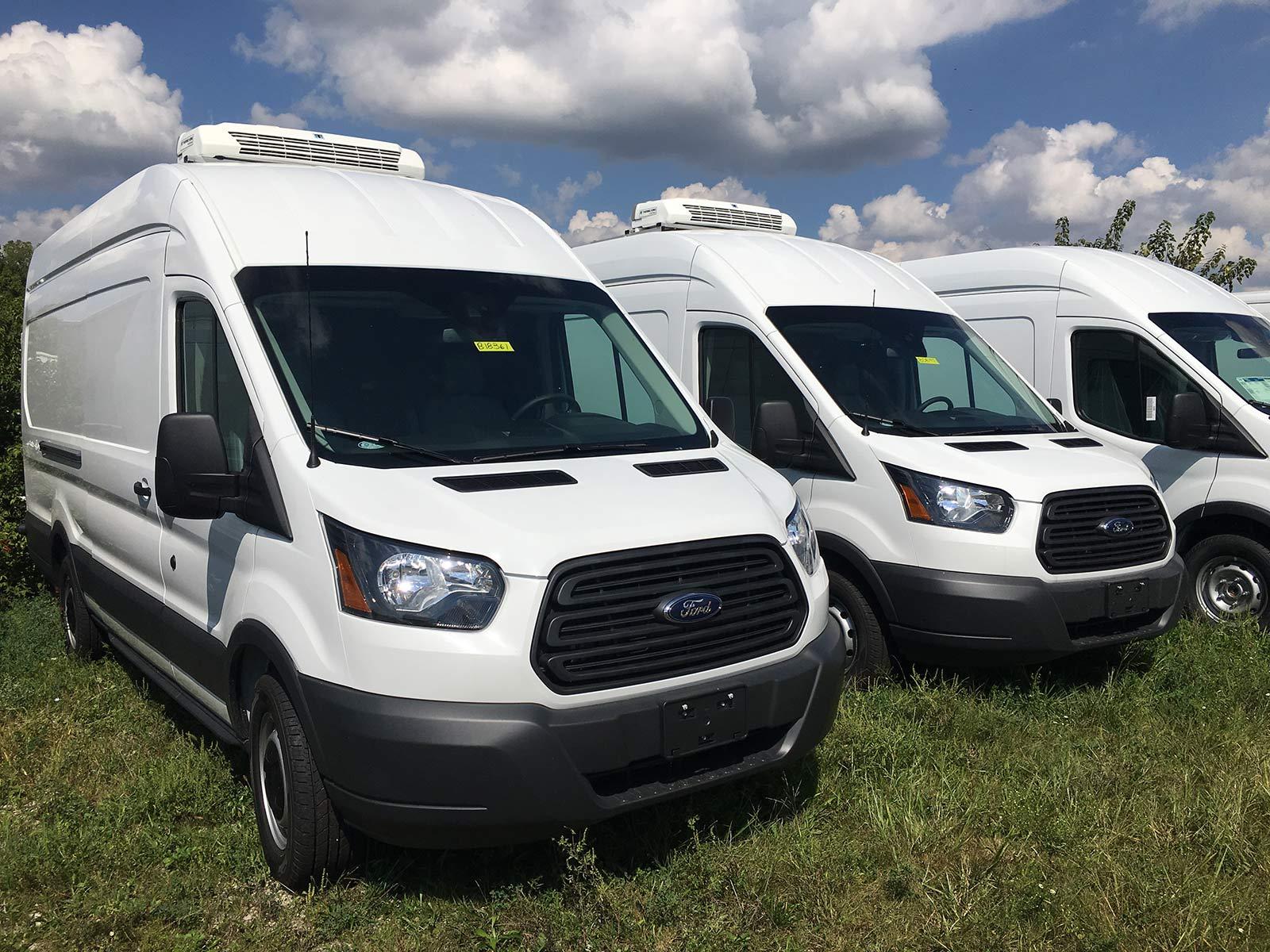 Refrigerated Vans Models 2018 Ford T350 Transit Van