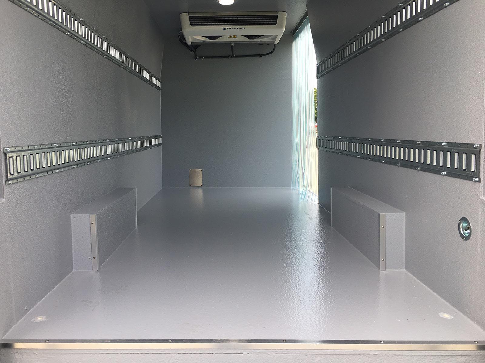 Refrigerated Vans Dodge Ram Promaster 3500 Bush Trucks